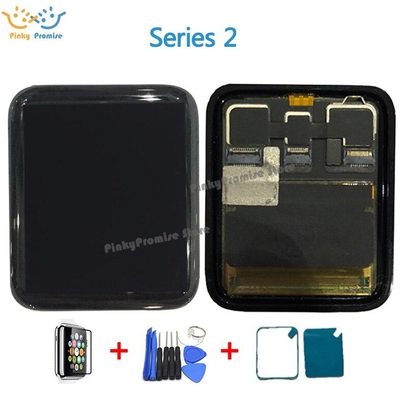 ใช้สำหรับ Apple นาฬิกา Series 2 จอแสดงผล LCD Touch Screen Digitizer Series2 S2 38 มม./42 มม.Pantalla เปลี่ยน + กระจกนิรภัย + เครื่องมือ-ใน จอ LCD โทรศัพท์มือถือ จาก โทรศัพท์มือถือและการสื่อสารระยะไกล บน AliExpress - 11.11_สิบเอ็ด สิบเอ็ดวันคนโสด 1