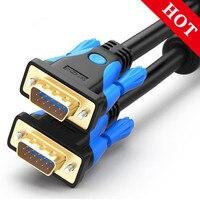 1080P VGA кабель Позолоченный разъем 1,5 м VGA кабель 2 м 3 м 5 м для компьютера и проектора монитор экран ПК ТВ адаптер конвертер