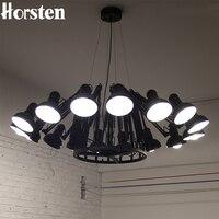 Horsten современный американский индивидуальный светильник паук Выдвижная лампа кулон Масштабируемая лампа для дома/офиса/бара декоративная