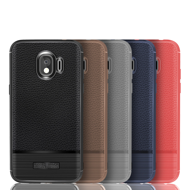 official photos 200d6 77c53 US $1.99  For Samsung Galaxy J2 PRO 2018 Case Fiber Silicon Soft Cover For  Samsung J2 2018 Case for Samsung Galaxy Grand Prime Pro Case-in Fitted ...