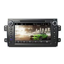 Android 5.1 car dvd GPS for SUZUKI SX4 2006-2013 radio gps wifi 3G Mirror link free map and reverse camera