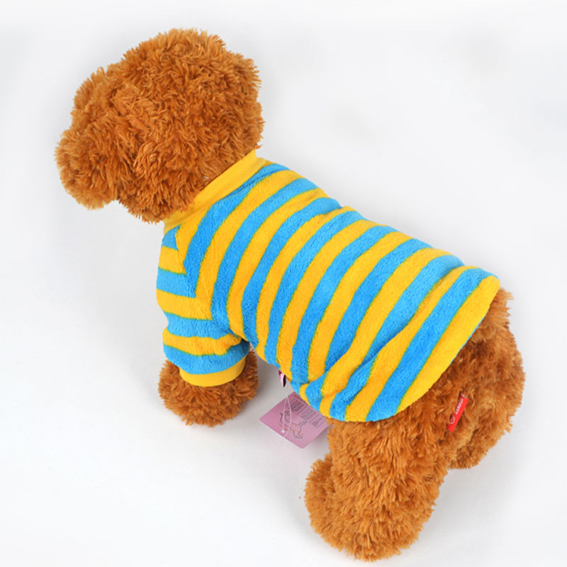 High Quality Pet Dog Suppliers Small Puppy Dog Cloth White Golden Retriever Pet Cloth Jackets Coat Pet Autumn Summer Clothing