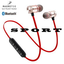 Magnetic Music Bluetooth Earphone Y10 Sport Running Wireless Bluetooth Headset with Mic For iPhone 8 X 7 Xiaomi in ear Earbuds original xiaomi bluetooth collar earphone sport wireless bluetooth headset in ear magnetic mic play dual dynamic headphone