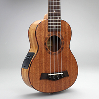 Hot sale High quality 21 inch electric Pickup EQ included United States 4 strings Guita Ukulele