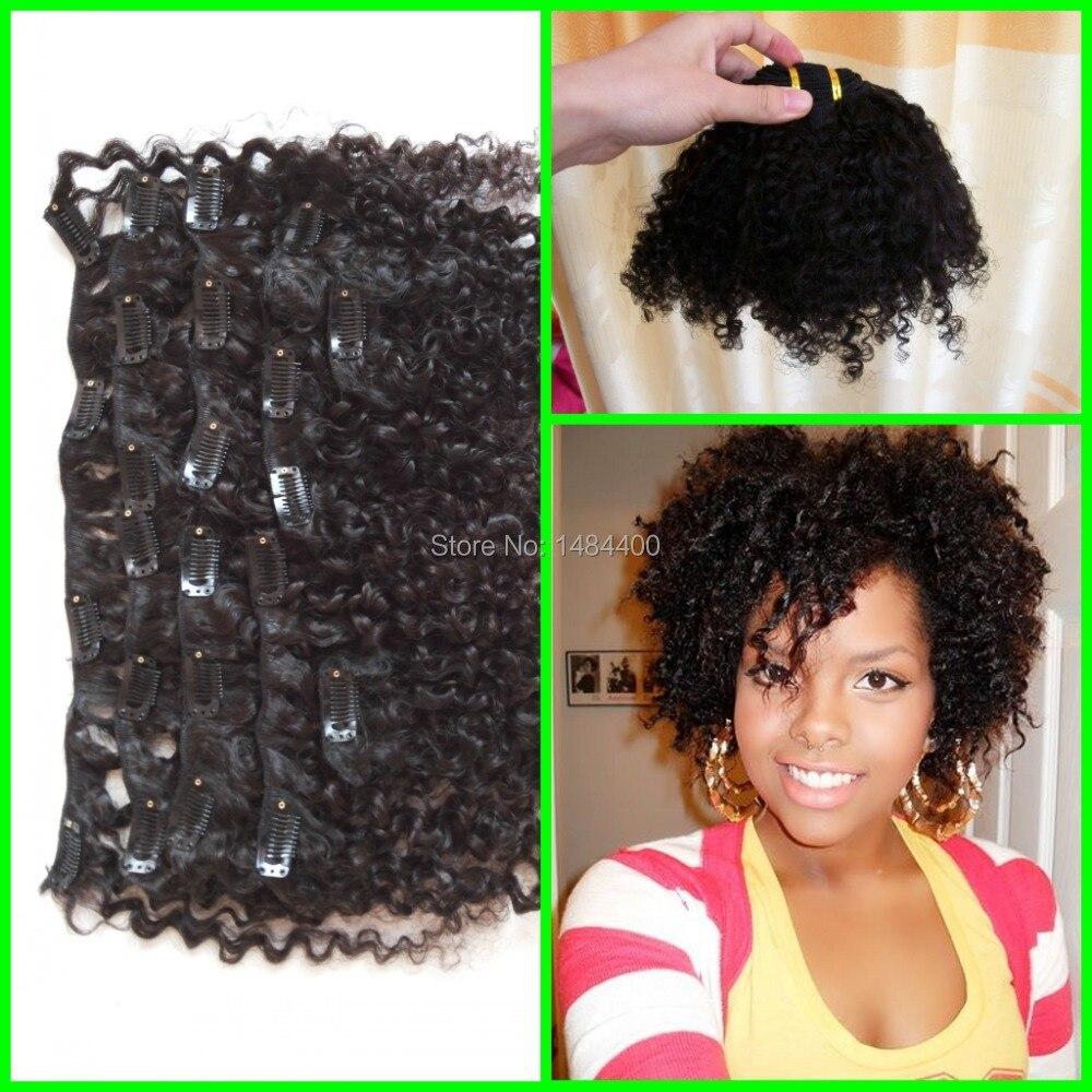 3a3b3c kinky curly malaysian virgini hair clip in hair 3a3b3c kinky curly malaysian virgini hair clip in hair extensions 120g per set clip in hair on aliexpress alibaba group pmusecretfo Images
