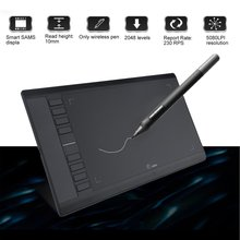 Buy online UGEE M708 10*6 Inch Ultra Thin Portable Electronic Digital Tablet Graphics Drawing Tablet Pad Hand Writing Board