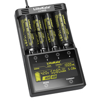 LiitoKala Lii 500S battery charger 18650 charger For 18650 26650 21700 AA AAA batteries Test the battery capacity Touch control|Chargers| |  -