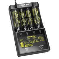 Liitokala Lii-500S carregador de bateria 18650 carregador para 18650 26650 21700 pilhas aa aaa teste a capacidade da bateria controle toque