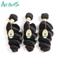 Ali Berrys Hair Loose Wave Malaysia Remy Hair Natural Color 100 Human Hair Extensions 8 28