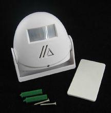 Chuangkesafe Adjustable Infrared PIR Wireless Entry DoorBell Warning Bell Greeting Chime Motion Sensor Alarm Burglar