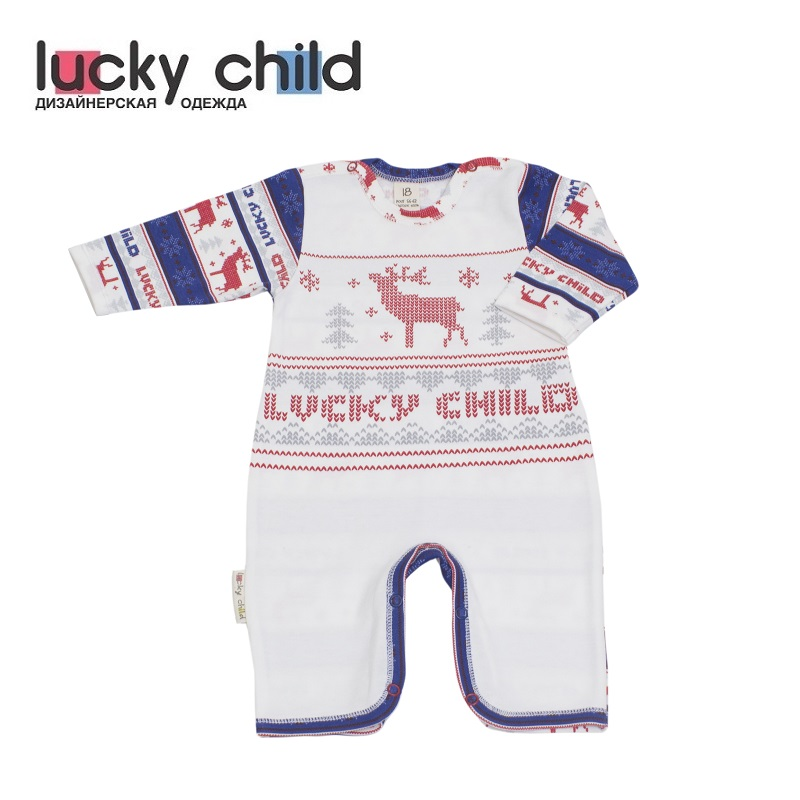 Jumpsuit Lucky Child for boys and girls 10-21 Children's clothes kids Rompers overalls lucky child for girls and boys 8 1 baby rompers children clothes