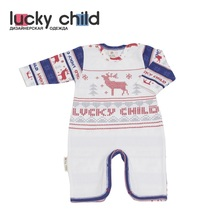 Комбинезон Lucky Child без начёса для мальчиков и девочек, арт. 10-21 (Скандинавия) [сделано в России, доставка от 2-х дней]