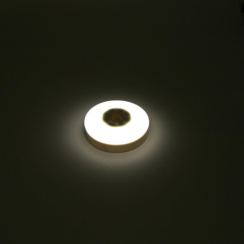 Brand New Mini Wireless Infrared Motion Sensor Novelty LED Night Lamp Porch Wall Lamp for Bedroom