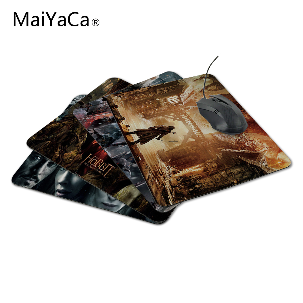 MaiYaCa The Hobbit 3 Battle of Five Armies Game of Thrones Design Gaming PC Anti-slip Mouse Mat for Optical/Trackball Mouse