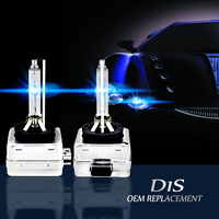 2016 New Arrival 35W D1S D1C Xenon HID Bulbs Headlights Car Lamp Converter Adapter Base 4300K