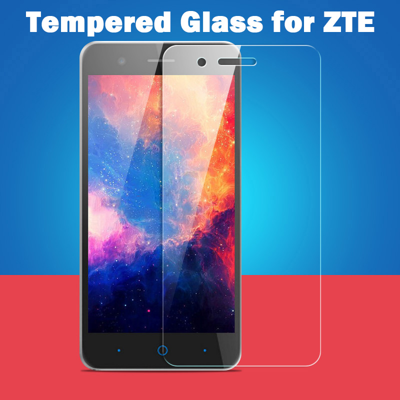 0.3mm Tempered Glass Screen Protector For Zte Blade A452 A510 A460 X3 X5 X7 L2 L3 L5 Plus V580 V5 V6 D6 Phone Film Cover Case Mild And Mellow