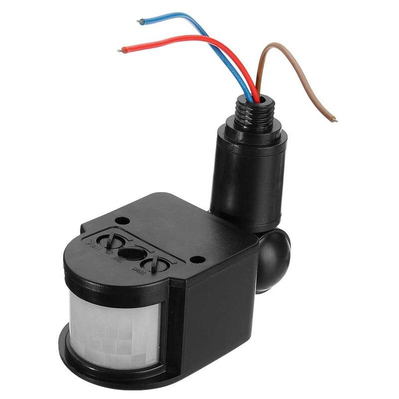Lovely Aliexpress.com : Buy Outdoor Motion Sensor Wall Light Lamp LED PIR Infrared  Motion RF180 Degree Switch Sensor Detector AC110V~240V From Reliable Light  ...