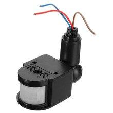 Outdoor Motion Sensor Wall Light Lamp LED PIR Infrared Motion RF180 Degree Switch Sensor Detector AC110V~240V