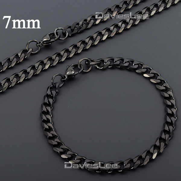 black gold necklace chain