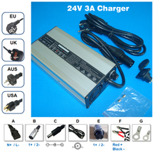 24V 3A charger Output 29.4V 3A aluminum case charger For 24V li-ion battery charging 24V 3A Lipo/LiMn2O4/LiCoO2 battery Charger