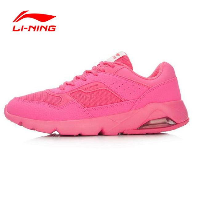 Li-Ning Bubble Ace Women Vintage Cushioning Running Shoes Classic Air Sole Running Sneakers LiNing Sports Shoes ARCL046 XYP465