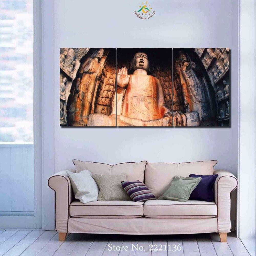№3-4-5 панелей/комплект старый Будда HD с Краски украшения ...