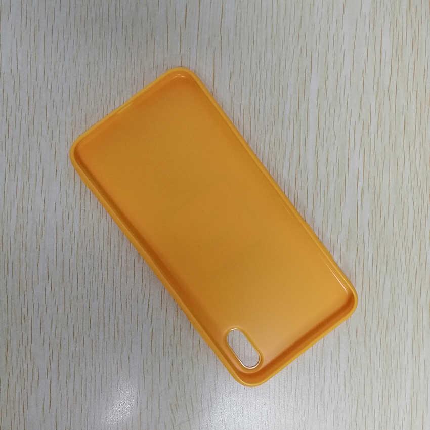 Perlindungan Penuh Silikon Lembut Matte Cover UNTUK iPhone X XS 6 7 8 6 S Plus XR X Max 5 S Ponsel Case Lucu Kartun Hewan Cetak