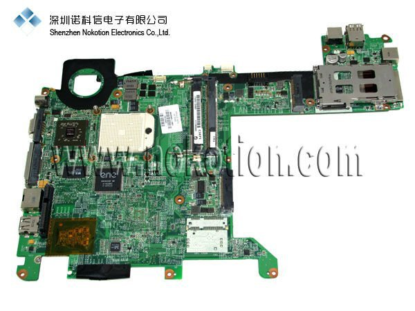NOKOTION 463649-001  Laptop Motherboard for HP TX2000 DDR2 With NVDIA VIDEO CARD Update graphics NF-G6150-N-A2 for hp g62 g72 laptop motherboard with graphics 615848 001 01013y000 388 g