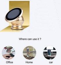 Здесь можно купить  New High Quality Magnetic Car Dash Mobile Phone Holder 360 Degree Rotating Dashboard Stand Universal For Phone Gps Navigation