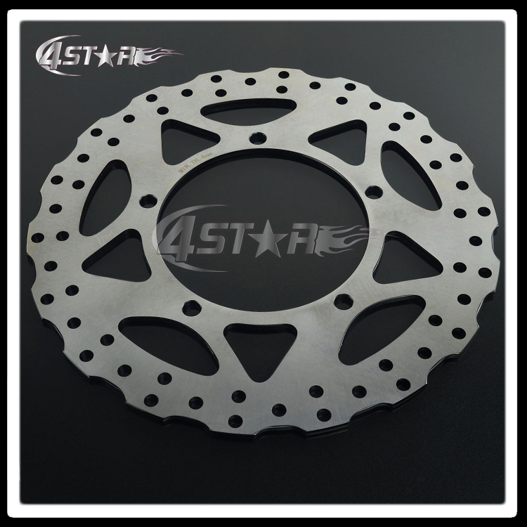 One Piece Front Brake Disc Rotor For Motorcycle Motocross Dirt Bike Ninja250 EX250 Ninja300 EX300 2013-2015 Free Shipping  free shipping dirt motorcycle front disc brake rotor for kawasaki kl250 super sherpa 1997 2007