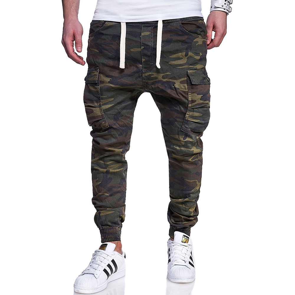 TOLVXHP Brand Men Pants Hip Hop Harem Joggers Pants 2018 Male Trousers Mens Joggers Camouflage Pants Sweatpants large size 4XL
