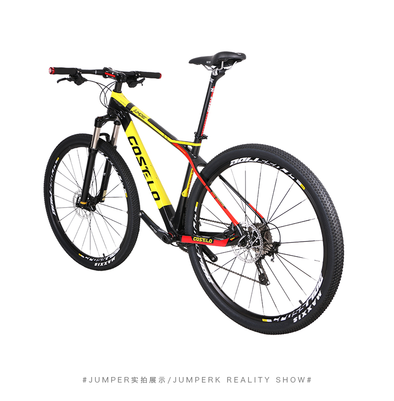 HTB1uw1aXaLN8KJjSZFGq6zjrVXaX - 27.5/29inch carbon fiber mountain bicycle Pneumatic shock 30/ 33 velocity carbon fiber body light-weight Cross nation weapon MTB