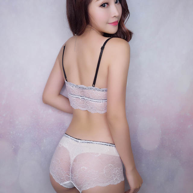 0bb054f129 MINGMO 2018 China Hot Sexy Lingerie Wholesale Front Closure Bra Set Wire  Free Transparent Small Girls