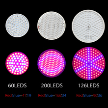 Energy-Saving Red/Blue LED Light for Plants Growing
