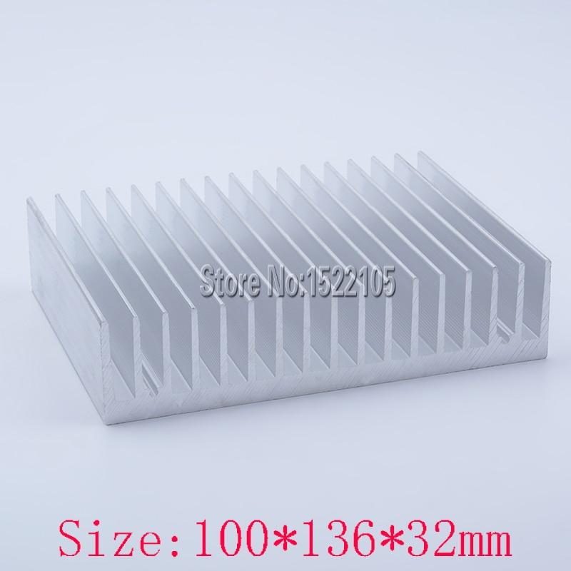 detailing 603e5 270cd Disipador de calor 100x136x32mm radiador De Aluminio del disipador de calor  del disipador de calor de alta calidad para la refrigeración Ex-precio de  ...
