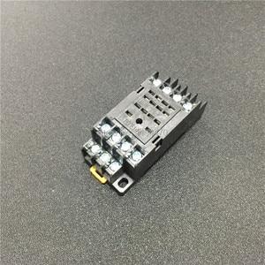 Image 5 - 10 セット MY4NJ HH54P DC 12 V 24 V 110 V 220 220v の Ac コイル電力リレー汎用ミニリレー 14 ピン 5A と PYF14A ソケットベース