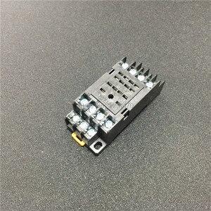 Image 5 - 10 ชุด MY4NJ HH54P DC 12 V 24 V 110 V 220 V AC รีเลย์กำลังไฟ Mini วัตถุประสงค์ทั่วไปรีเลย์ 14 Pins 5A พร้อม PYF14A ฐานซ็อกเก็ต