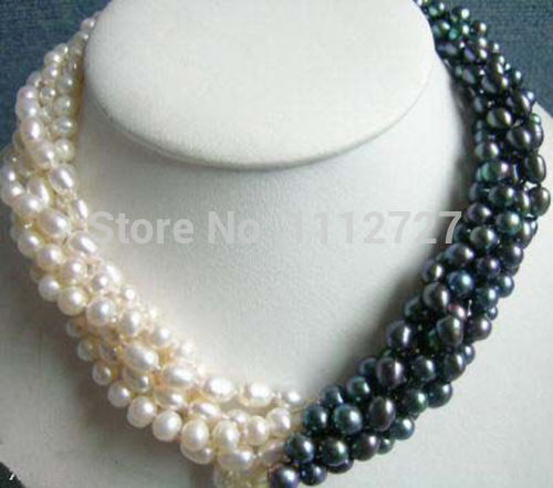 gros collier de perle