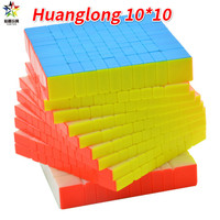 Zhisheng Yuxin Huanglong 10Layers Cube Stickerless 10x10x10 Cube Puzzle 10 Layers Toys For Children Kids YX1070