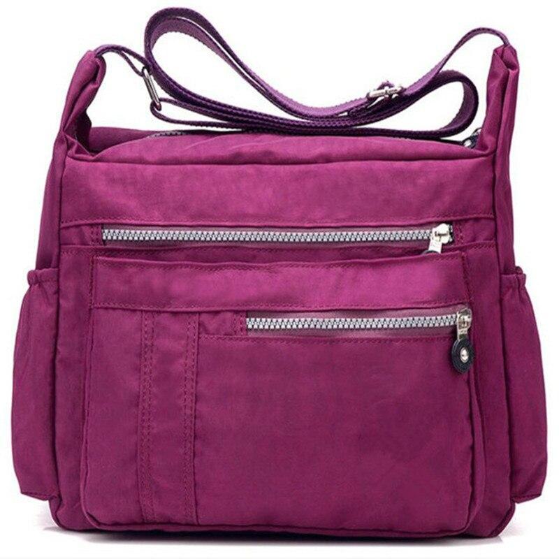 Bolso kiplefamous design da marca feminina mensageiro saco de náilon casual shoulderbag floral bolsas com zíper saco crossbody sacos sacamain