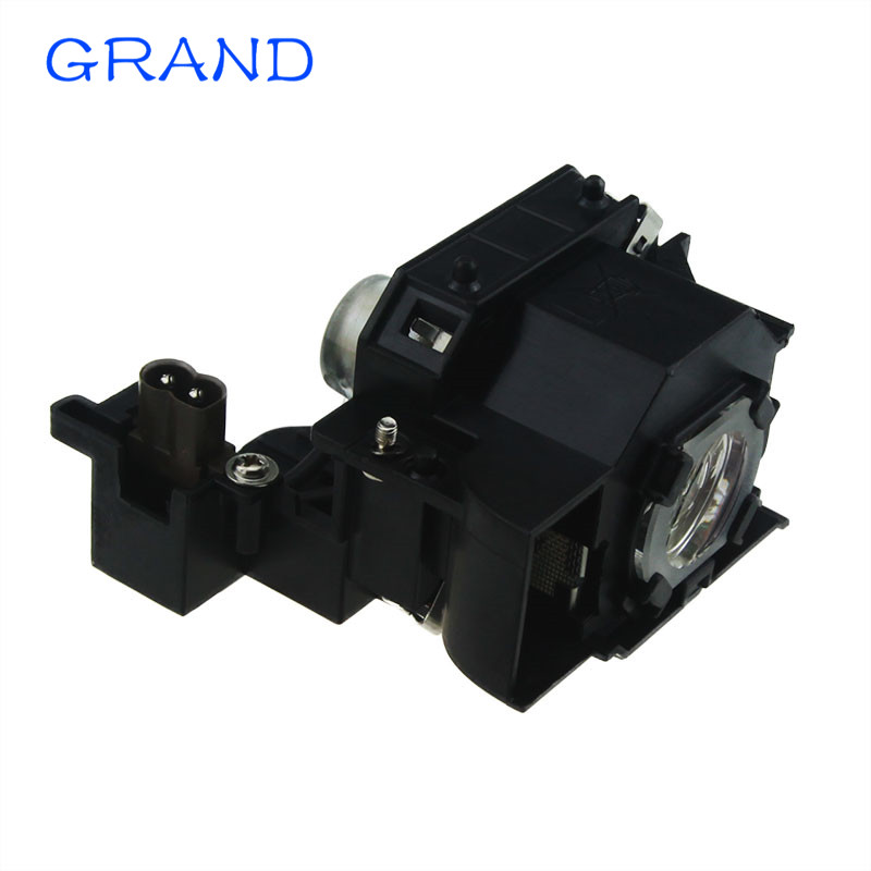 Projector Replacement lamp  ELPLP44 /V13H010L44 FOR EH-DM2 EMP-DM1/MovieMate 50/MovieMate 55  with Housing Happybate