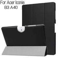 Newest Stand Flip PU Leather Cover for Acer Iconia B3-A40 10.1