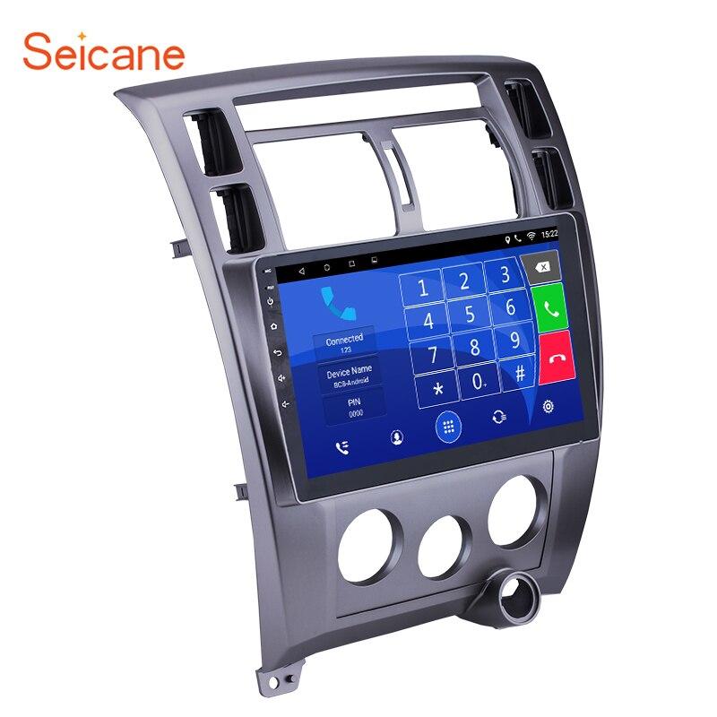 Seicane Android Écran Tactile 10.1 2DIN Voiture Radio FM Bluetooth GPS Multimédia Pour 2006-2013 Hyundai Tucson LHD Soutien OBD2 WiFi