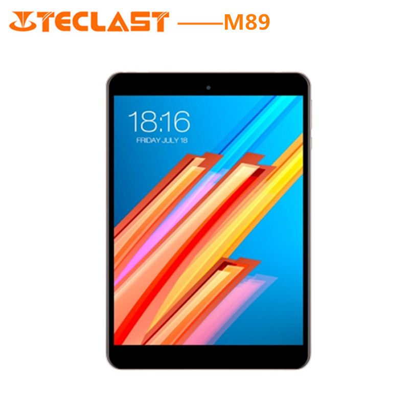 Teclast M89 Tablet PC 7.9 pouces Android 7.0 MTK8176 Hexa Core 2.1 GHz 3 GB RAM 32 GO eMMC ROM double Caméras Double WiFi HDMI Type-C