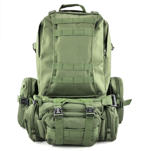 Boutique 50 L Assault Military Rucksacks Backpack Fashion Men Professional Large Capacity Traveling Bag