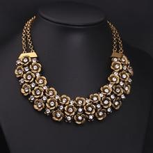 New Design Model Classic Ethnic Multilayer Flower Choker Necklaces & Pendants For Ladies Vogue Jewellery
