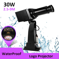 Waterproof Ourdoor 30W LED Customize Logo Projection Lamp Light Shop Mall Image Advertising Projector