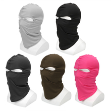 Маска мотоциклиста Балаклава защита для лица капюшон Лыжная Верховая CS маска Защита от пыли Мягкая дышащая Ветрозащитная маска от солнца