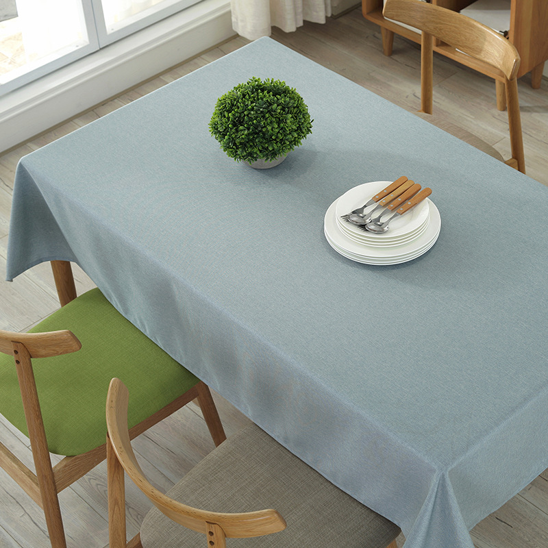 Nordic Simple Modern Solid Color Cotton Table Cloth Coffee