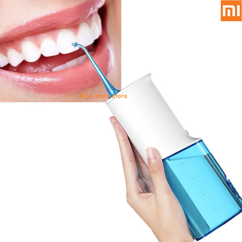 Xiaomi SOOCAS W3 Oral Irrigator Portable Water Dental Flosser Water Jet Cleaning Tooth Mouthpiece Denture Cleaner
